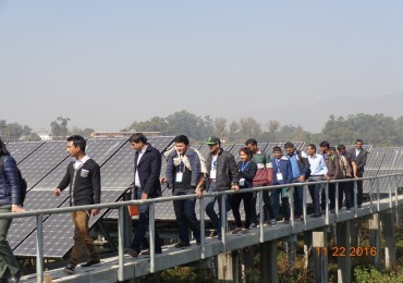 Training for Trainers/Large Scale Solar PV Training for Engineers